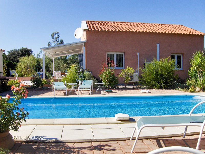 Nice house with swimming-pool, vakantiewoning in Castelnou