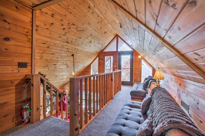 Poner a los niños a descansar en los 2 futones de tamaño completo.