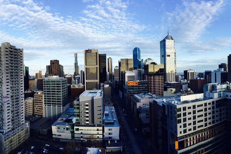 A panoramic view of the city right from your own balcony... Splendid!!