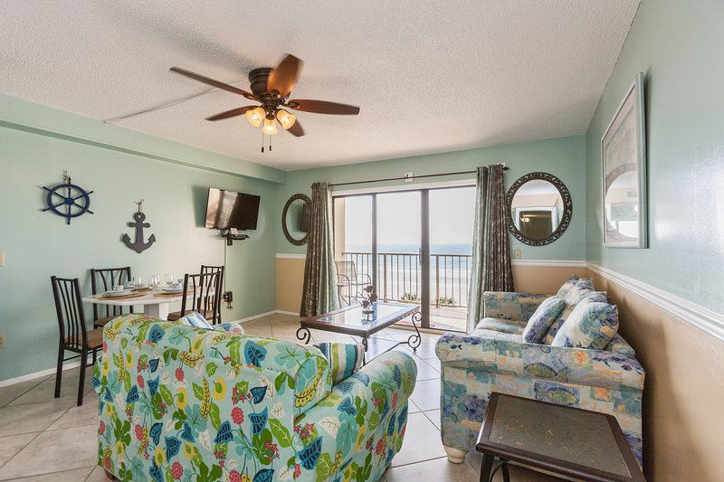 Life is better on the beach!  Renovated, holiday rental in Panama City Beach