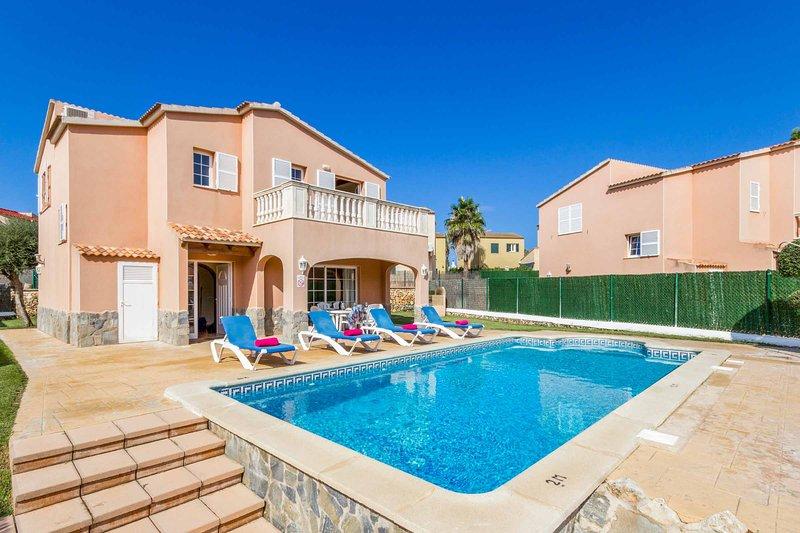 Villa Llebeig, holiday rental in Cala Morell