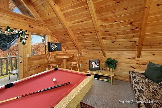 Lofted Game Room at A Lover's Secret