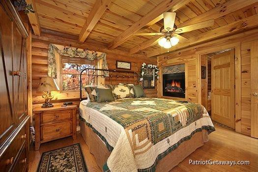 Bedroom at A Lover's Secret