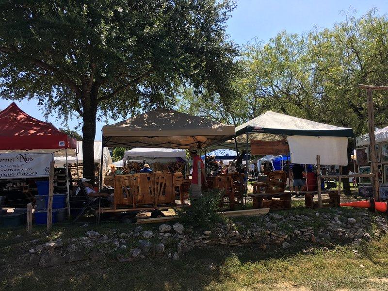 Gruene, TX 'market days' host local artisans