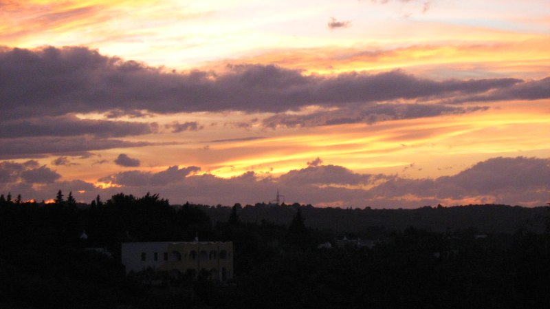 Who can ever tire of gazing at the sunsets in high summer from the terraces they are breathtaking.