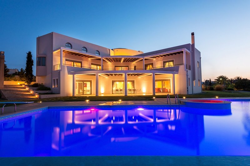 Louloudi Luxurious Villa Kalithea / Rhodes, location de vacances à Rhodes