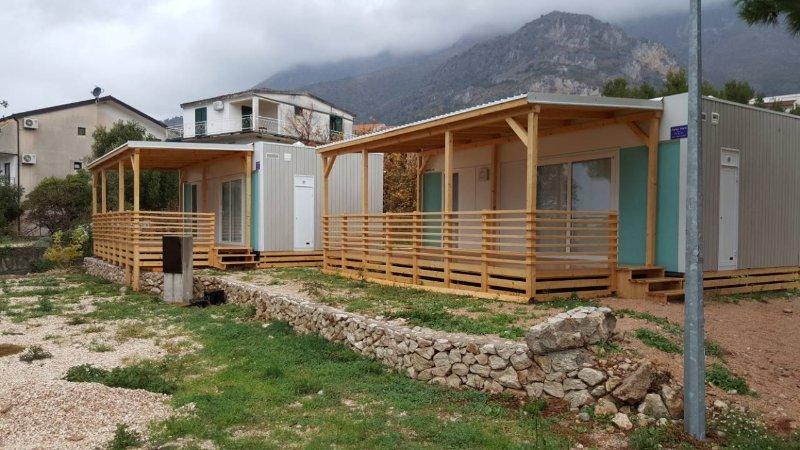 Beautiful bungalow near the beach, location de vacances à Zivogosce