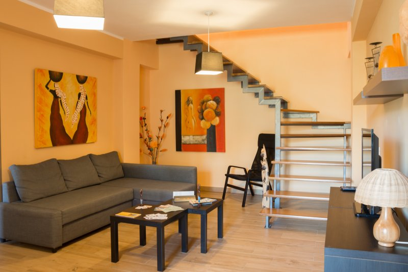 Bosco Sea Apartment - with terrace, holiday rental in Agrigento