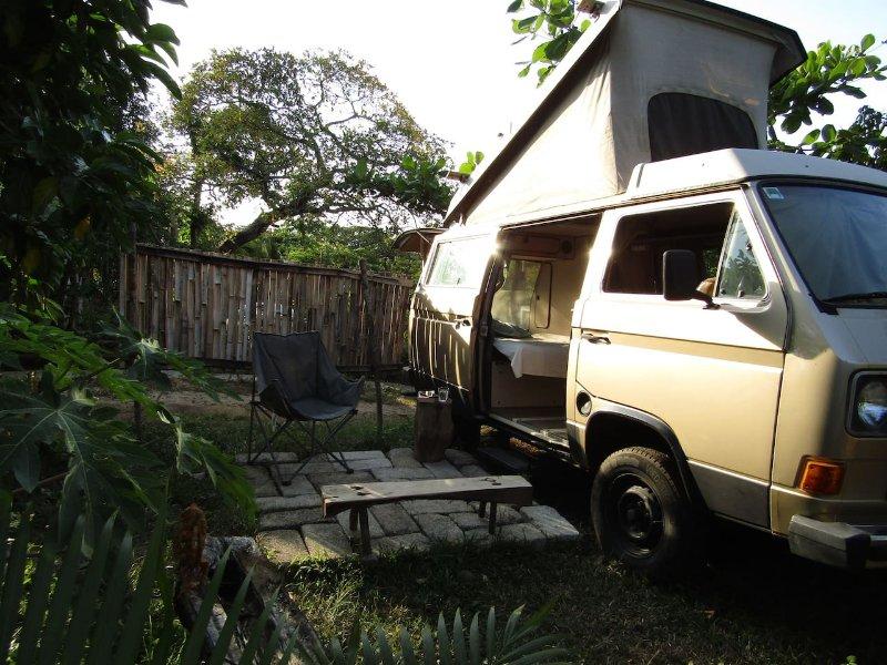 CASA Corteza; Adorable 85 VW WESTFALIA, alquiler de vacaciones en Catemaco