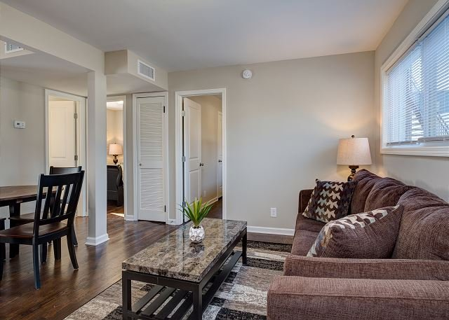 Living Area - Unit 1