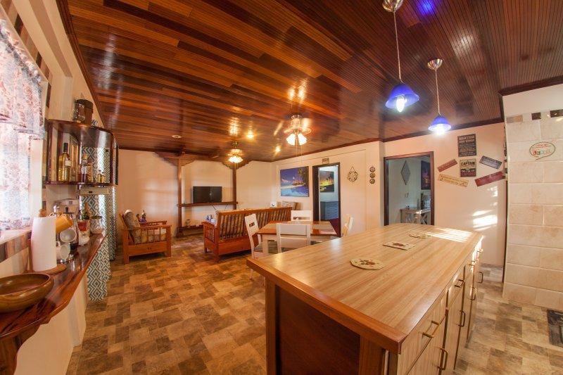 Cocina abierta Concepto / comedor y sala de estar