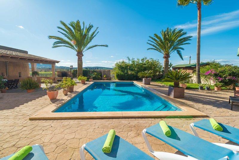 SON CIFRE - Villa for 10 people in FELANITX, vacation rental in Felanitx
