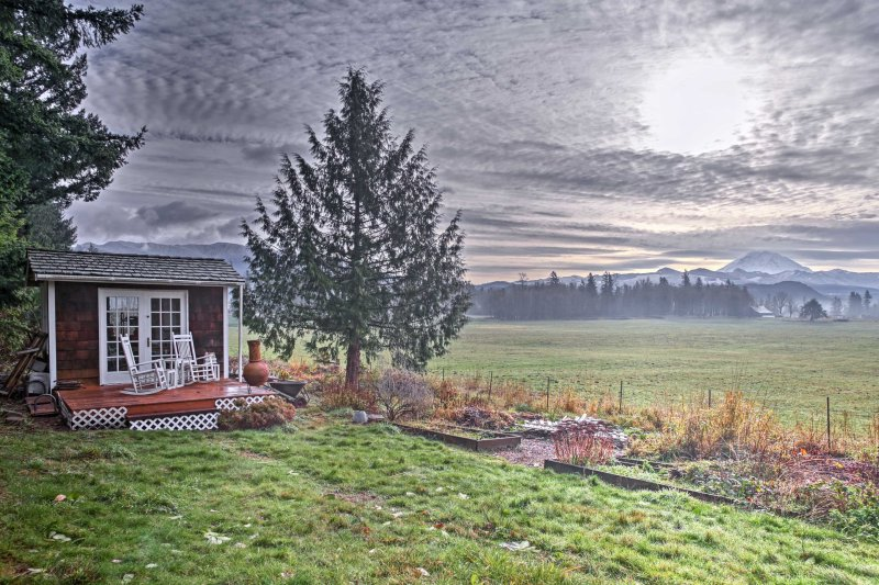 Escape to Enumclaw for an adventurous stay at this 1-bedroom, 1-bath vacation rental apartment!