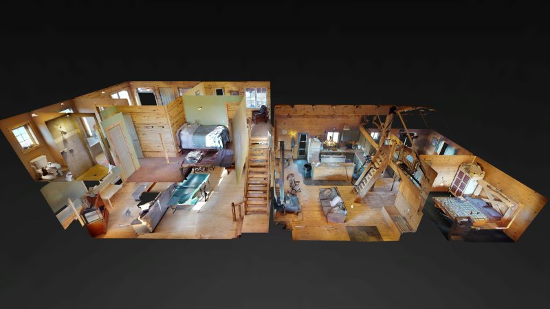 NEW 3D Virtual Tour of lodge! See Below