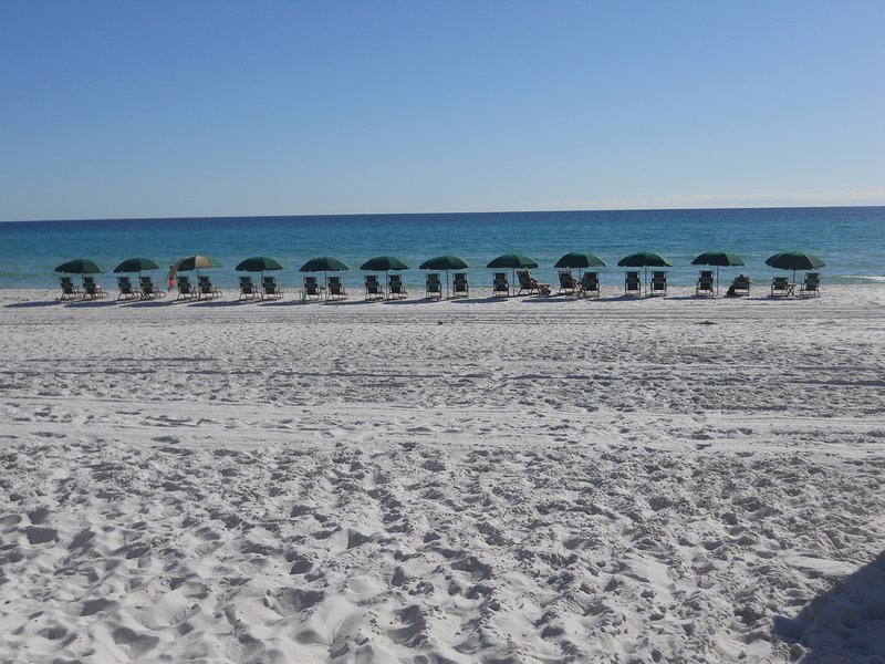 Our beautiful beach in front of Dunes of Seagrove