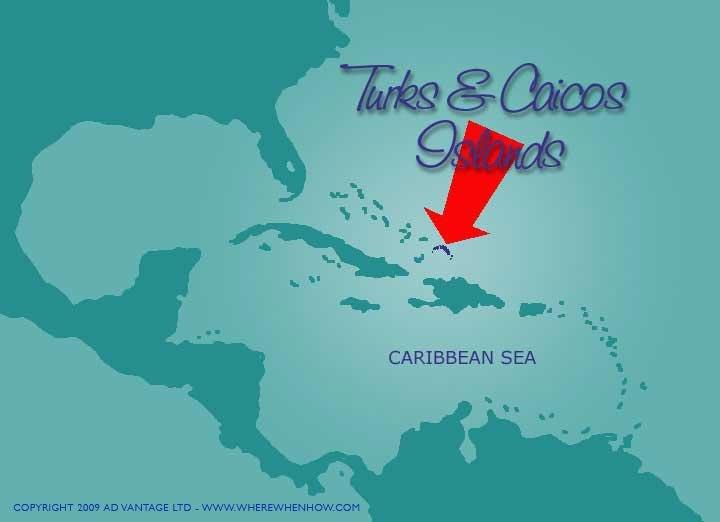 Where is Turks & Caicos?