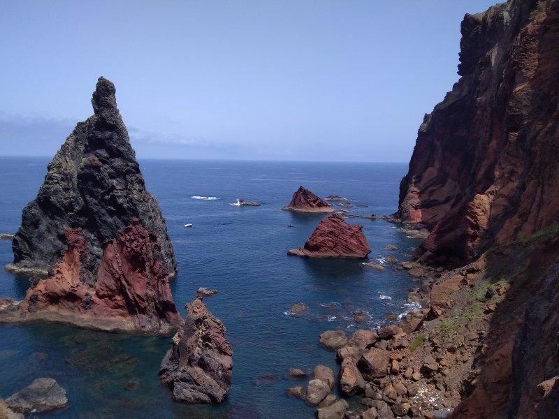 Vue panoramique sur la côte maritime de l'île de Madère