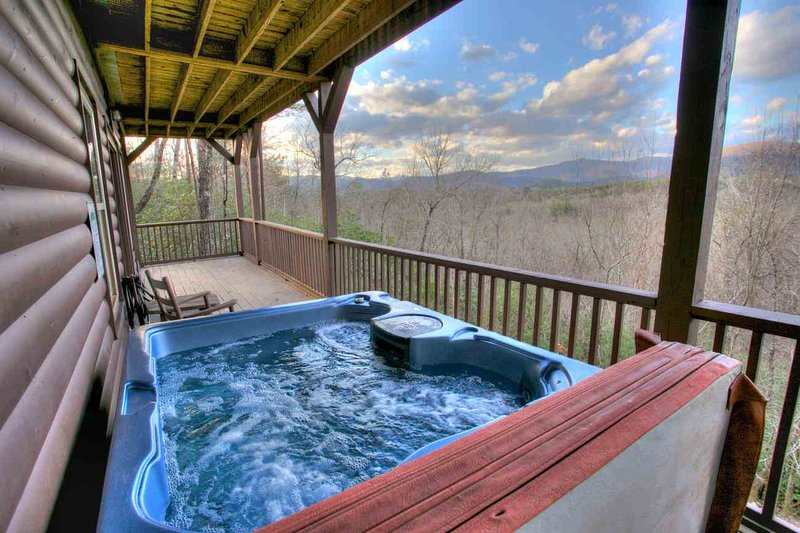Hottub with Mountain View
