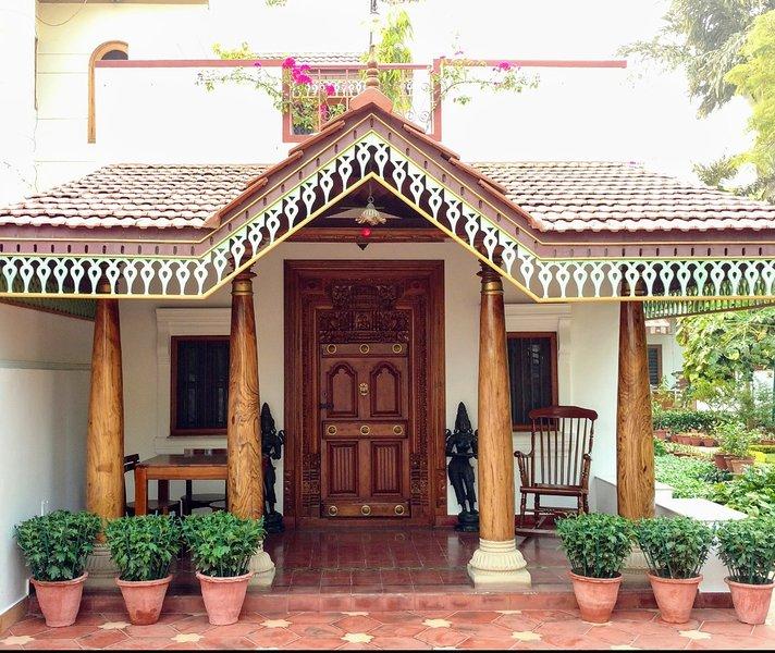 The BougainVilla - Main Entrance