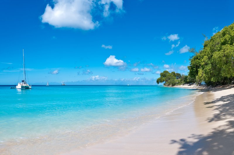 Latitude - White sand beach on Gibbs Bay Barbados