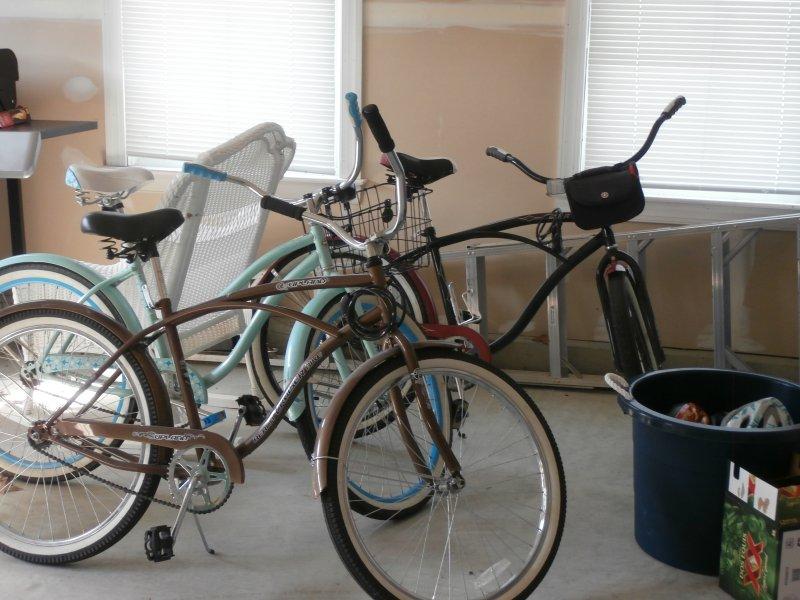 3 Adult Bikes w/ Locks Available