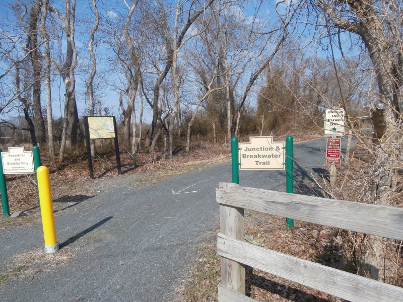 Breakwater Junction Trail close to main entrance into the community.  Awesome Bike Trail!