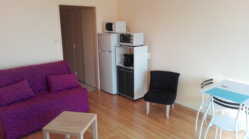 studio meublé et équipé, location de vacances à Saint-Julien-de-Chedon