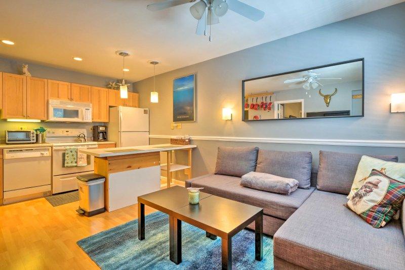 Plan your next Breckenridge vacation to this quaint vacation rental condo!