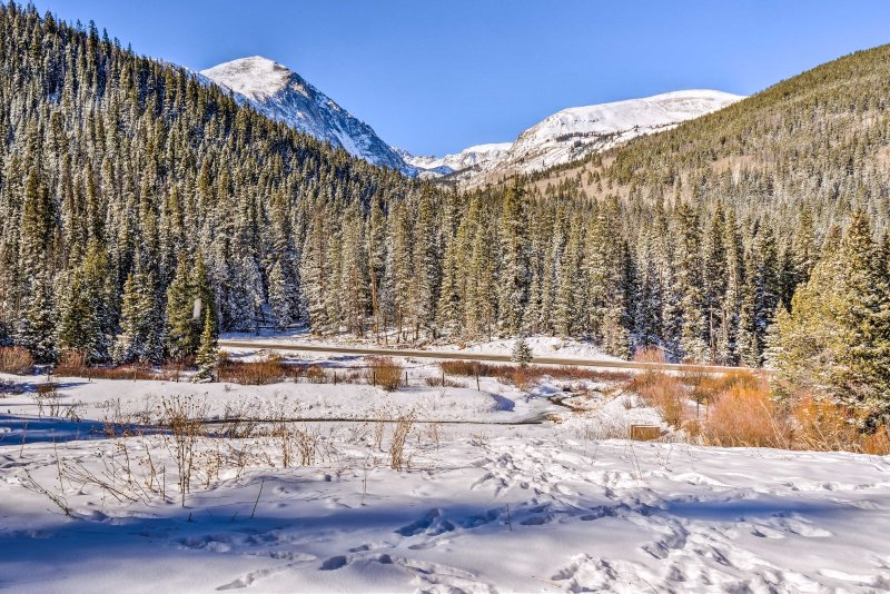 Gaze out at Quandary Peak from the property!