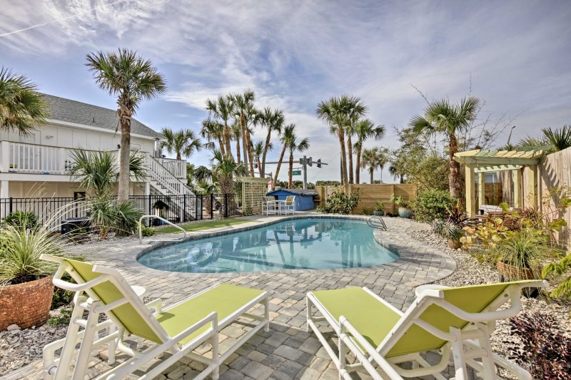 Maximize your next trip to St Augustine at this vacation rental house!