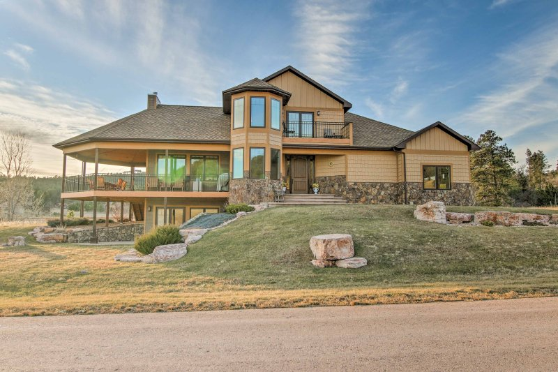 Take a trip to Sturgis and stay in this beautiful vacation rental home just outside of the city!