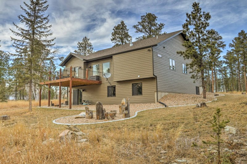 Escape to a Black Hills hideaway when you stay in this vacation rental house in South Dakota!