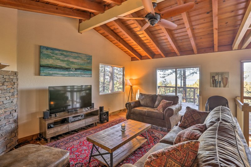 Clear the calendar for a getaway at this vacation rental house in Zephyr Cove!