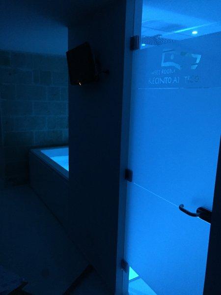 Suite con ozono terapia cromo terapia effetto pioggia