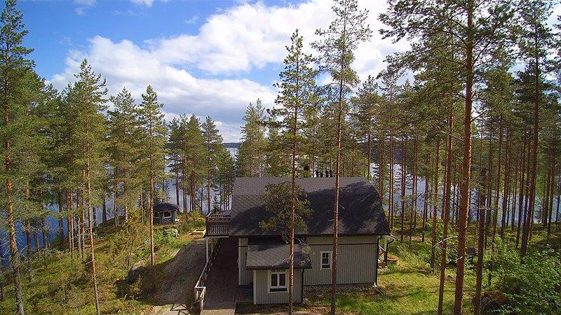Eemilin huvila, vacation rental in Toivakka