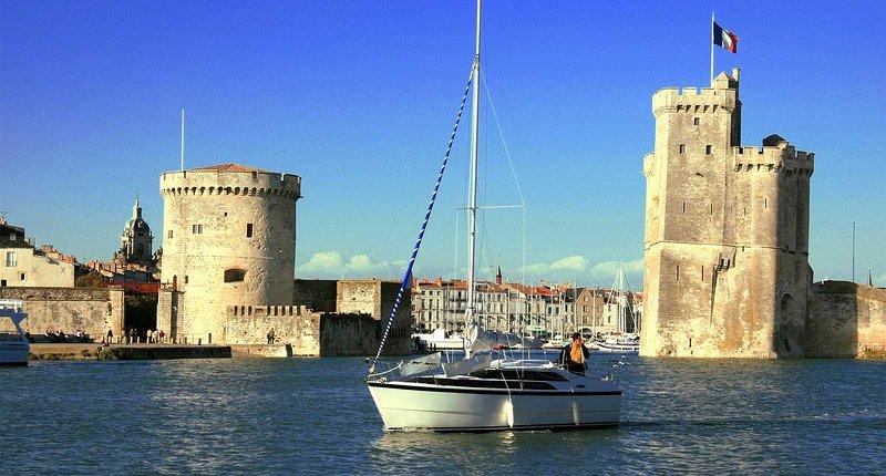 Hafen von La Rochelle ein paar Schritte von zu Hause aus