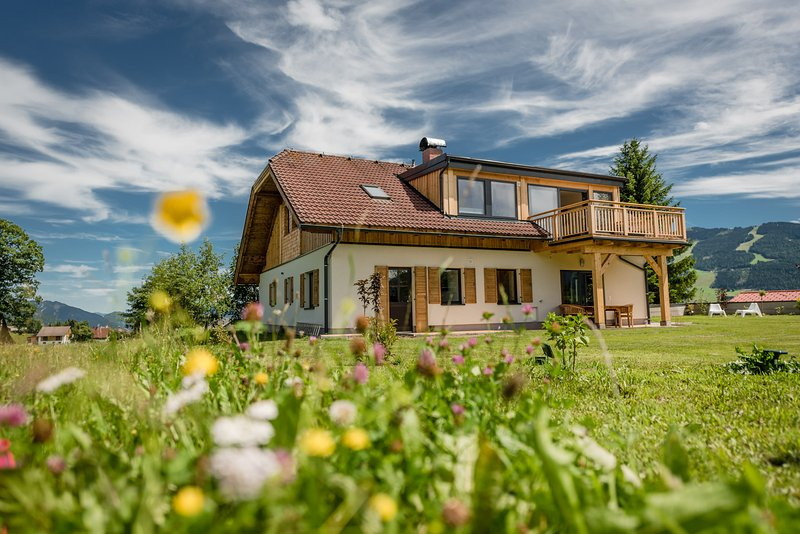 Chalet Höflehner, holiday house in Ramsau am Dachstein, Austria, apartments for up to 8 people.