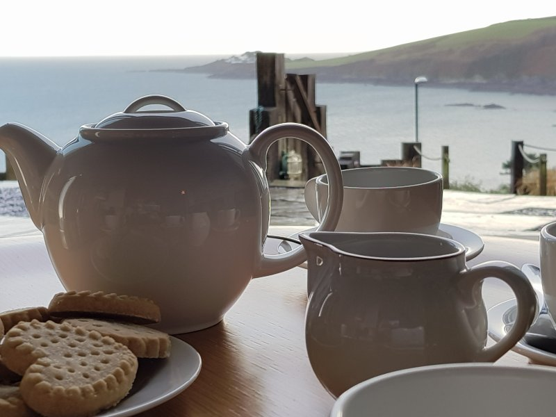 Tea with a view from the lounge