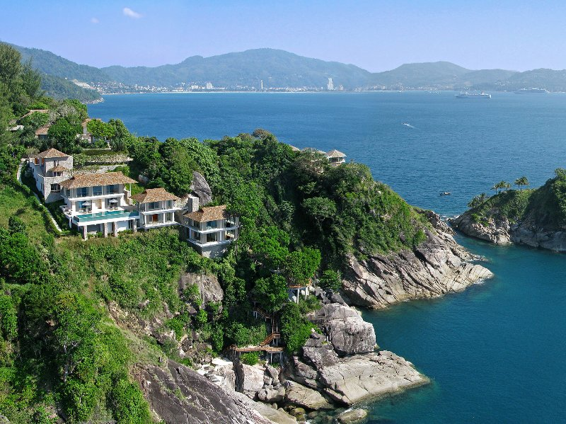 Villa Minh - Aerial shot with view