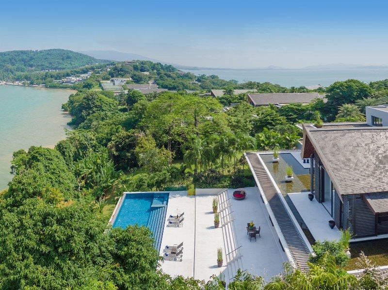 Baan Maprao - Atemberaubende Aussicht umgeben die Villa