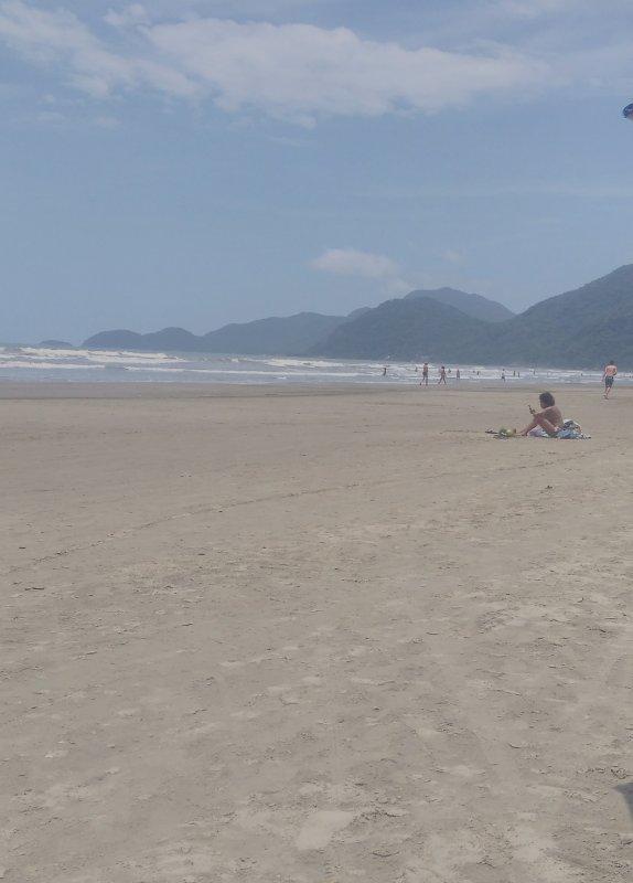 frente para o mar, holiday rental in Mongagua