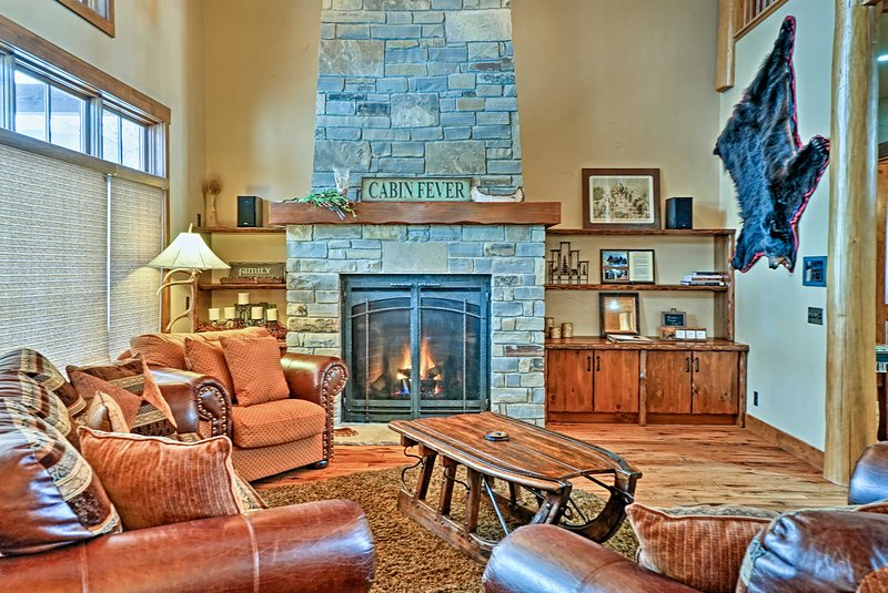 Experience the beauty of Big Sky Country at this 6BR, 5.5-bath vacation rental.