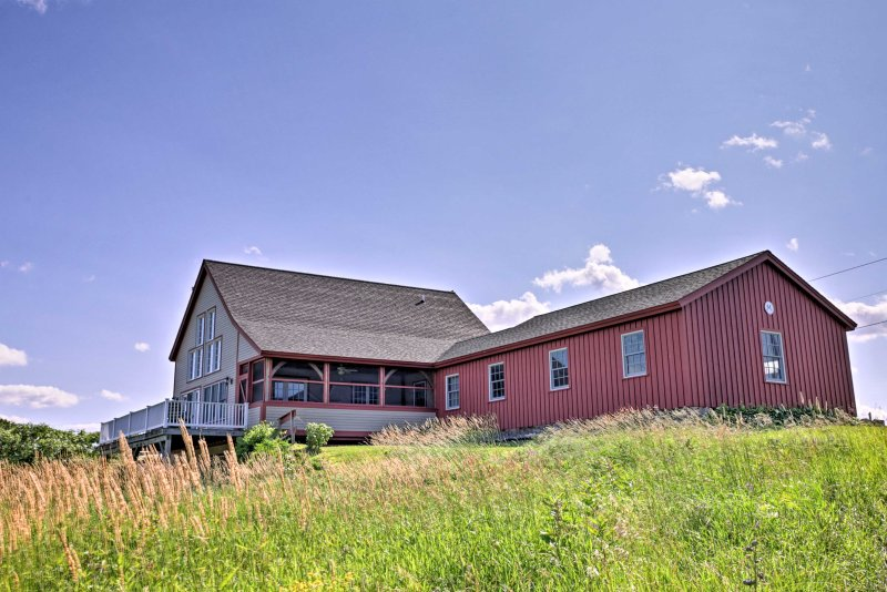 Come escape to this phenomenal Alburgh vacation rental home, situated on Lake Champlain!