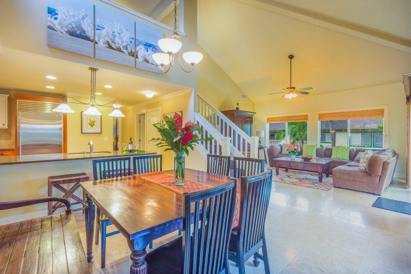 Luxury Poipu 4br Villa with AC Walk to the Beach! (224), holiday rental in Poipu