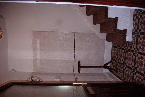The entrance hall at El Rincon