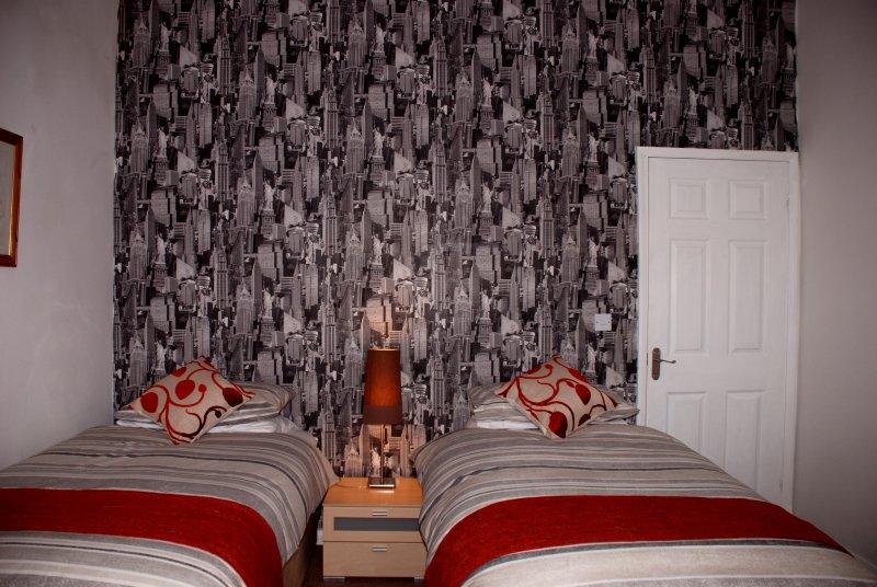 Twin bedroom at El Rincon