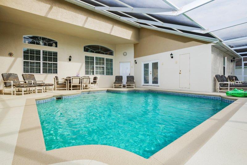 zona de la piscina al abrigo de dar la máxima privacidad