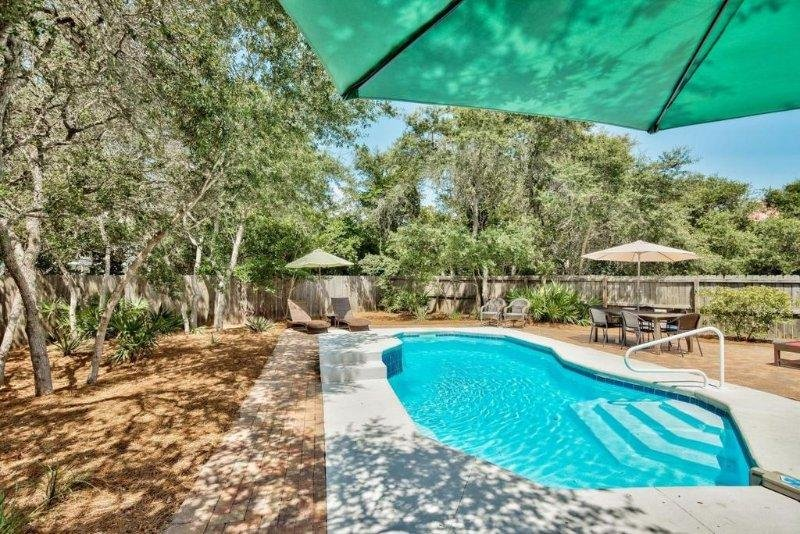 Huge Private Backyard with Private Heated Pool and Spa!
