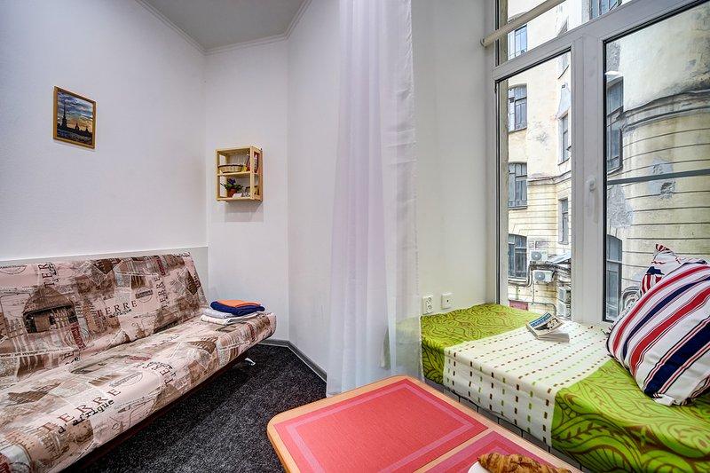 Cozy apartment near the 1st Medical Institute, location de vacances à Bugry