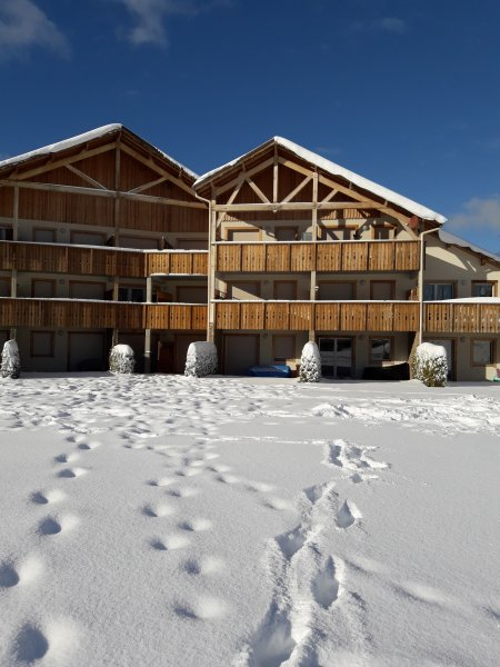 The snowy chalet